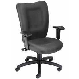 Task Chair with 3 Paddles Mechanism - Gray