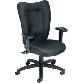 Task Chair with Seat Slider - Black