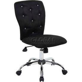 Boss Tiffany Microfiber Chair - Black