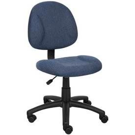 Deluxe Posture Chair Blue