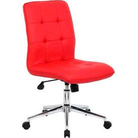 Boss Modern Office Chair - Red