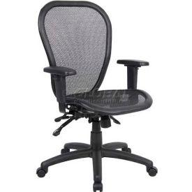 Boss Multifunction Mesh Office Chair Seat Mid Back Black