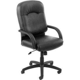 High Back Caressoft™ Executive Chair - Black