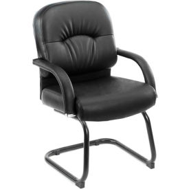 Mid-Back Caressoft™ Guest Chair - Black