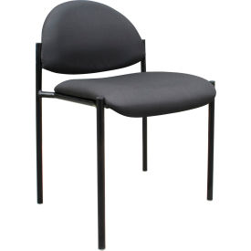 Diamond Stacking Chair - Black