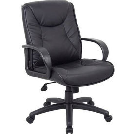 Boss Chairs@Work Mid Back - Black