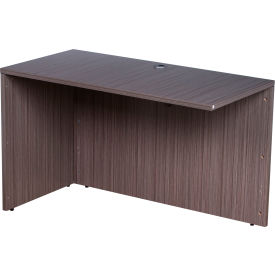 "Boss Reversible Desk Return - 24""W x 48""D - Driftwood"