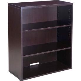 """Boss Open Hutch/Bookcase - 31"""" - Mocha"""