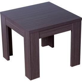 """Boss Wooden End Table - 22""""W x 22""""D - Driftwood"""