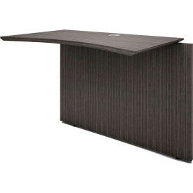 """Boss Desk Bridge - 41.5""""W x 20""""D x 29.5""""H - Driftwood"""