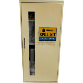 """Wall Mount Spill Containment Cabinet, Large, 12""""W x 14""""D x 28""""H, Universal"""