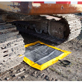 "ENPAC Off-Road Dripillow Berm W/Pad & Grommets, 48"" x 48"" x 3"",..."