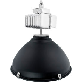 """Neptun 19250-AL-UNV 250W 22"""" Aluminum Induction High Bay with flat Glass Lens"""