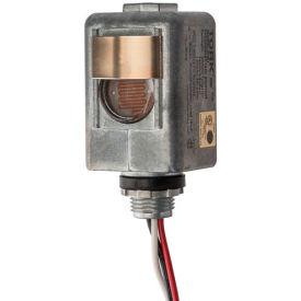 """NSI TORK® 2101 Spec Grade 1/2"""" Stem DieCast Zinc, On 1-5fc/Off 3-15fc, 6""""Leads, 120V, 2000W Tung"""