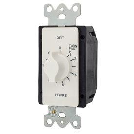 NSI TORK® A512HW 12 Hour Spring Wound Twist Timer, 125-277V, SPDT, White