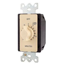 NSI TORK® A515MA 15 Minute Spring Wound Twist Timer, 125-277V, SPDT, Light Almond