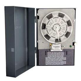 NSI TORK® W302L 7 Day Reserve Power Timer, 40A, 208-277V, 3PST, Indoor Enclosure