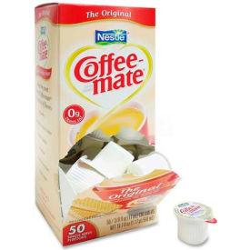 Nestle® Coffee-Mate Non-Dairy Liquid Creamer Singles, Original, 0.375 oz., 50/Box