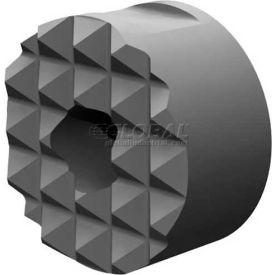 "Made in USA Steel Serrated Surface Round Gripper 1/2""x3/8"" 10-32 Thread"