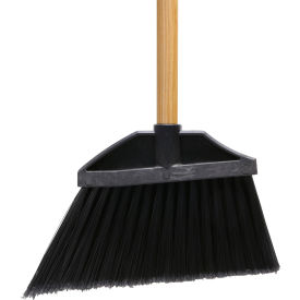 "O-Cedar Commercial Small Institutional Angle Broom 48"" Wood Handle 12/Case - 6404-WLNS - Pkg Qty 12"