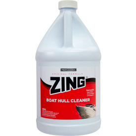 ZING® - Original Boat Hull Cleaner, Gallon Bottle 4/Case - N074-G4