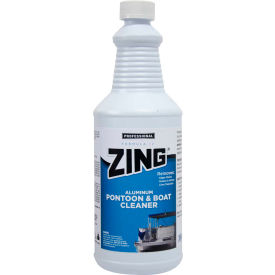 ZING® - Formula IV Aluminum Pontoon & Boat Cleaner, Quart Bottle 12/Case - N879-Q12