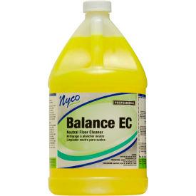 Nyco Balance EC Lemon Scented Neutral pH Floor Cleaner, Gallon Bottle 4/Case NL158-G4 by