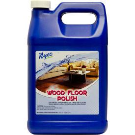 Wood Floor Polish, Gallon Bottle, 4 Bottles