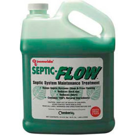 Hercules 139302 Cloroben Septic-Flow Flow Improver 1/2 Gallon - Pkg Qty 6