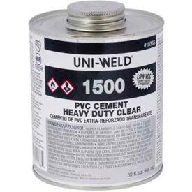 Oatey 1524 1500 Series PVC Heavy Duty Clear Cement Gallon - Pkg Qty 6