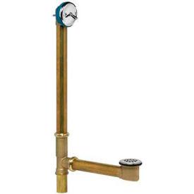 Dearborn Brass 203-3 Brass Whirlpool Bath Waste Full Kit 17 Ga. Uni-Lift Stopper Chrome Finish Trim