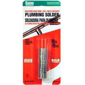 """Oatey 22004 95/5 Wire Solder .117"""" Gauge, 1/2 lb  - Pkg Qty 10"""