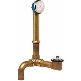 Dearborn Brass 227S-3 Uni-Lift Bath Waste Kit For Side Drain 17 Ga. Uni-Lift Stopper Chrome Finish