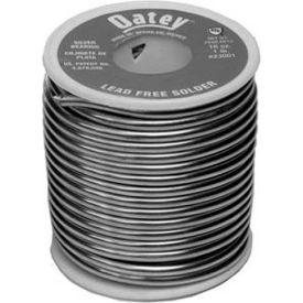 """Oatey 23001 Silver Lead Free Wire Solder .117"""" Gauge, 1 lb - Pkg Qty 25"""