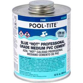 "Oatey 2346S 2300 Series Pool-Tite Medium Blue ""Hot"" PVC Cement 16 oz. - Pkg Qty 24"