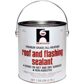 Hercules 25405 Roof & Flashing Sealant 1 qt. - Pkg Qty 12