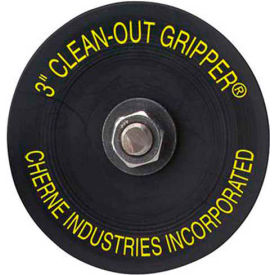 """Cherne 270138 3-1/2"""" Plug Seals 4"""" Threaded Opening , 17 PSI, 40FT"""