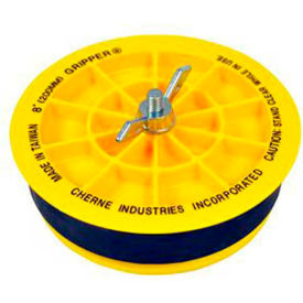 """Cherne 270270 8"""" End of Pipe Gripper Plug, 17 PSI, 40FT"""