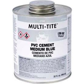 """Oatey 2766S 2700 Series Multi-Tite Medium Blue """"Hot"""" PVC Solvent Cement 4 oz. - Pkg Qty 24"""