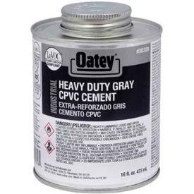 Oatey 30328 EP42 CPVC - PVC HD Gray Industrial Cement 16 oz. - Pkg Qty 24