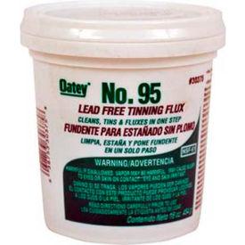 Oatey 30375 No. 95 Tinning Flux - Lead Free 16 oz. - Pkg Qty 12