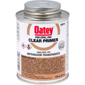 Oatey 30754 Clear Primer 1 Gallon, NSF Listed - Pkg Qty 6