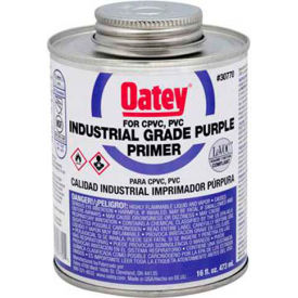 Oatey 30771 Purple Primer - Industrial Grade 32 oz. - Pkg Qty 12