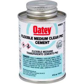 Oatey 30875 PVC Flexible Clear Cement 4 oz. - Pkg Qty 12