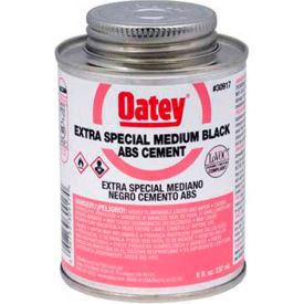 Oatey 30916 ABS Extra Special Black Cement 4 oz. - Pkg Qty 24