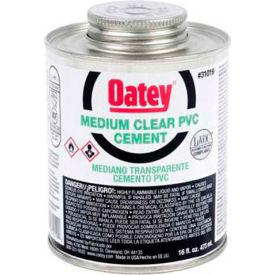 Oatey 31019 PVC Medium Clear Cement 16 oz. - Pkg Qty 24