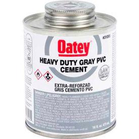 Oatey 31105 PVC Heavy Duty Gray Cement 32 oz. - Pkg Qty 12
