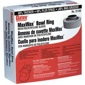 Oatey 31188 Maxwax Jumbo Wax Bowl Ring - Pkg Qty 12