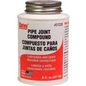 Oatey 31228 Gray Pipe Joint Compound 8 oz. - Pkg Qty 12