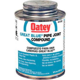 Oatey 31261 Great Blue Pipe Joint Compound 4 oz. - Pkg Qty 12